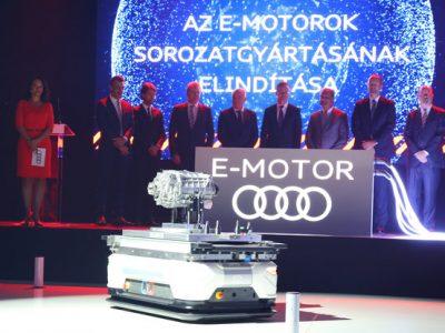 O nouă eră: Audi demarează producția de motoare electrice în Ungaria