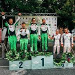 Raliul Perla Haghitei 2018: podium 100% Napoca Rally Academy