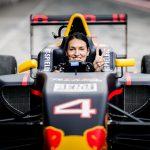 Cristina Neagu, Florin Vlaicu și Mihnea Groseanu au gonit cu peste 200 km/h pe circuitul de Formula 1 de la Red Bull Ring