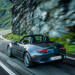 Mazda MX-5 2019, dezvoltată sub conceptul 'bucuria mișcării, bucuria vieții'