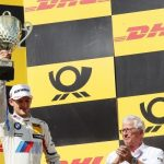 Marco Wittmann urcă pe podium în cursa 100 pentru BMW de la revenirea în DTM în 2012