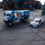 Drifturi cu un camion de 9 tone în Sankt Petersburg