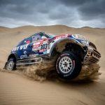 """Raliul Dakar 2019: echipajul Joan """"Nani"""" Roma – Alex Haro şi MINI John Cooper Works Rally urcă pe locul al doilea al clasamentului general"""
