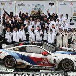 BMW Team RLL a câştigat cursa de 24 de ore de la Daytona şi îi dedică victoria lui Charly Lamm