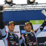 Hyundai Motorsport, pe podium in Raliul Suediei