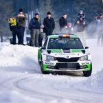 Dan Gîrtofan, distracție și voie bună la Winter Rally Covasna 2019