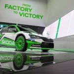 Actualizare şi look nou pentru campionul WRC ŠKODA FABIA R5