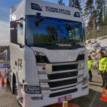 Nokian Tyres susține evenimentul Scania Driver Competitions