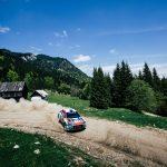 Simone Tempestini, Raliul Aradului un ultim antrenamet înainte de  WRC Rally de Portugal