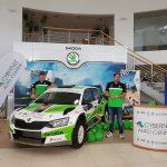 Cybernet Auto Center a prezentat oficial echipajul Raspopa/Diacu