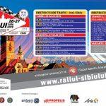 Restricții de circulație cu ocazia Raliului Sibiului 2019