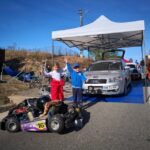 Maeva Gilles, mezina echipei GP24 Timis Rally Team, participanta la doar 6 ani la o etapa de viteza in coasta