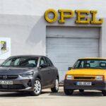 Premieră la IAA: noul Opel Corsa întâlnește un exemplar rar al modelului Corsa GT