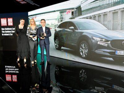 "Mazda CX-30 a câștigat ""Volanul de aur 2019"""