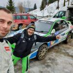 Demonstratie de forta la Winter Rally Covasna