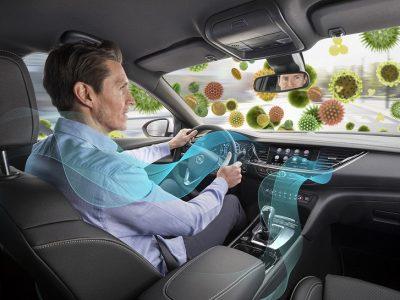 Aer mai curat – mulțumită filtrelor de polen din fiecare nou model Opel