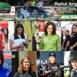 Zece prezențe feminine iau startul la Raliul Argeșului 2020