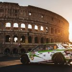 Simone a obținut locul 2 în clasamentul ERC 1 Junior și locul 5 în clasamentul general la Rally di Roma Capitale