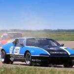 Circuitul Motorpark parcurs în sens antiorar a adus un plus de spectacol în a doua etapă Romanian Retro Racing