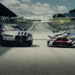 Premieră mondială pe Red Bull Ring: pentru prima dată, BMW M GmbH a prezentat, unul alături de celălalt, două simboluri concepute pentru şosea şi circuit