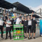 Sheldon van der Linde (Africa de Sud / Shell BMW M4 DTM), prima clasare pe podium în cariera DTM