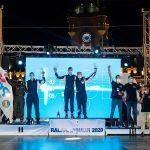 Campionii en titre la Cupa DACIA caștiga Raliul Iașului