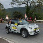 Premieră mondială semnată în România: MINI Cooper SE a participat pentru prima dată în istorie într-o cursă de viteză