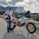 Mani Gyenes la al 11-lea start în Raliul Dakar