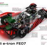 Audi prezintă e-tron FE07 pentru Campionatul Mondial de Formula E