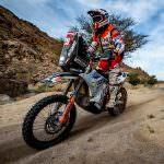 Dakar 2021: Emanuel Gyenes termină etapa a 11-a pe locul 29 și se menține pe poziția a doua la clasa Malle Moto