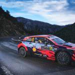 Hyundai Motorsport a inceput sezonul 2021 cu un podium in Raliul Monte-Carlo