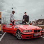 George Hobjila si Andrei Andrus, prieteni chiar si in masina de curse