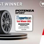 Noua anvelopă sportivă de top Bridgestone Potenza Sport a fost numită câștigătoarea testului Autobild pentru anvelope sportive 2021