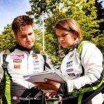 Podium pentru Norbert Maior și Francesca Maior în Campionatul European de Raliuri