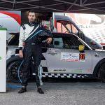 Dominic Marcu cu primul Mini Cooper Electric de curse din lume, la Trofeul Sinaia