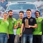 Simone Tempestini, victorios la Raliul Sibiului. Echipa Napoca Rally Academy a câștigat cu toate cele 3 echipaje prezente la Sibiu!
